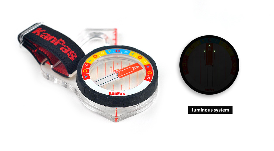 the best orienteering elite thumb compass with fast and stable needle