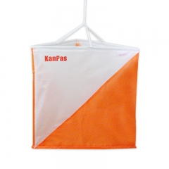KanPas Orienteering Marker Flag Large / Size 30X30cm / set of 10 Pcs