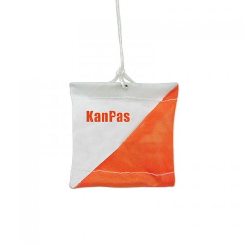 KanPas Mini Orienteering Marker Flag/Size: 6X6cm /set of 10pcs/  #OM-01
